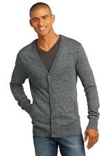 District Made Mens Long Sleeve Button Up Cardigan Winter Sweater XS-4XL DM315
