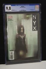 NYX #3 CGC 9.8 1ST APPEARNCE X-23 LAURA KINNEY WHITE PAGES HOT LOGAN MOVIE