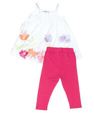Baby Girls Summer Sundress & Pink Leggings Clothing Outfit (0-24 Months)
