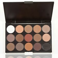 NEW PRO 15 COLORS MAKEUP NEUTRAL NUDES WARM EYESHADOW PALETTE DURABLE LOT F