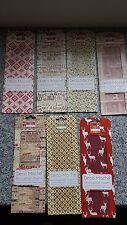 Christmas Deco Mache Decoupage Papers - 3 x 22gsm sheets Holly Stag Tree Gift