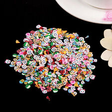 New 1000x Nail Art Mix Design Fimo Slices Polymer Clay Stickers Decoration US