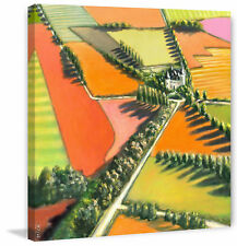 Marmont Hill 'English Country Chateau' Painting Print on Wrapped Canvas