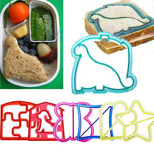 Fun Kid Lunch Sandwich Toast Cookies Cake Bread Biscuit Food Cutter Mold Cool