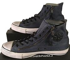 Converse John Varvatos Chuck Taylor Double Zip Hi Sneaker INK DENIM BLUE 150168C