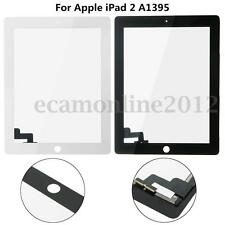 Touch Screen Digitizer Glass Lens Repair Replacement Part For Apple iPad 2 A1395