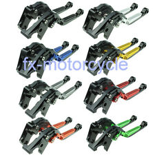 Folding Extendable Clutch Brake Levers for Yamaha XJ6 DIVERSION 2009-2015