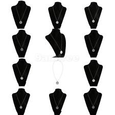 Chic Bridal Wedding Party Jewelry Round Lettering Carved Pendant Necklace Chain
