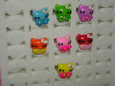 Hello Kitty Rings. Kids Adjustable. Style #1. Brand New. GREAT PARTY FAVORS