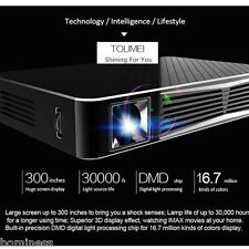 TOUMEI V3 DLP Projector Wireless WiFi Android 4.4 1080P HD 3D Media Player