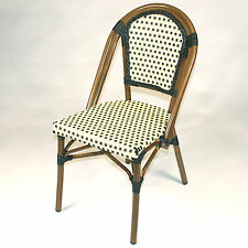 Infinita Corporation French Bistro Armless Saint Tropez Stacking Chair Set of 6