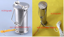 Stainless steel water sampling sampler bottle can Hydrophore thief