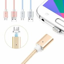 2.4A High Speed Micro USB/8-Pin Magnetic Adapter Charger Cable fr iPhone Samsung