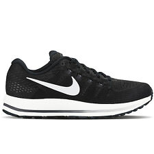 Nike 2017 Men's Air Zoom Vomero 12 Black/White 863762-001 Sz 8 - 13