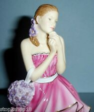 Royal Doulton Pretty Ladies Rebecca Figurine Pink Gown HN5516 New In Box