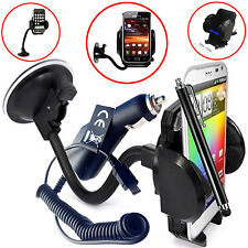 FLEXI WINDSCREEN 360 CAR MOUNT SUCTION HOLDER CRADLE FOR HTC ONE M9