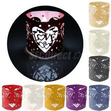 6pcs Love Letter Heart LED Tea Light Holders for Wedding party Decora