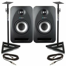 Tannoy Reveal 502 (Pair) with Stands + Cables