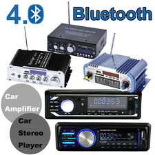 HiFi Stereo Amplifier Bluetooth Car Audio FM Aux Input Receiver SD USB MP3 Radio