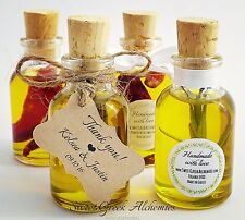 "10 pcs ""Favorite"" Olive Oil Favors (25ml / 0.85oz), Olive Oil Wedding Favors"