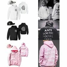 Lovers Anti Social Social Club Sweatshirt Cap Hip Hop Hoodie Sweaters Streetwear