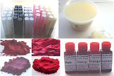 Lip Dye Deep Red Kit Natural DIY Lipstick Lip Balm Easy Melt Mix Colour & Pour