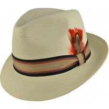 Classic Mens Vintage style 1920's 1930's 1940's Trilby Panama Hat