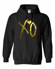 XO THE WEEKND GOLD Unisex Hoodie Jumper Pullover OVOXO The weeknd Drake GIFT