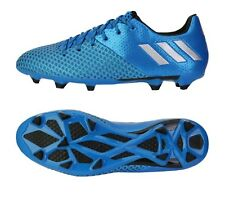 Adidas Men Cleats Messi 16.2 FG AG Soccer Sport Football Blue Shoes Boots AQ3111