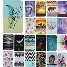 PU Leather Cute Patterns Case for Various Samsung Tablets Protective Stand Cover