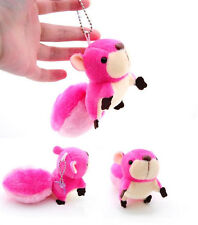 Plush Toy Doll Squirrel Ornaments Toy Pendant Stuffed Toy Handbag Pendant New