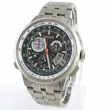 Citizen Black PROMASTER Mens Analog Sport Silver Watch BY0010-52E