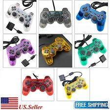 New Twin Shock Wired Game Controller Joypad Pad for Sony PS2 Playstation 2