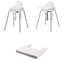 ANTILOP Highchair with safety belt ,Highchair with tray & Highchair tray