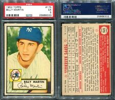 1952 TOPPS #175 BILLY MARTIN ROOKIE PSA 5 (8333)