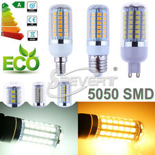 Energy Saving E27 E14 G9 5050 SMD 27 48 69 LED Spot Corn Light Bulb Cover Lamp