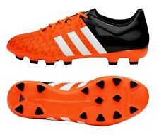 Adidas Men Cleats ACE 15.3 HG Soccer Football Sports Orange Shoes Boots B32841