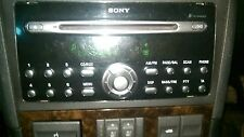 Ford  Sony Car Stereo Radio 6 Disc CD Multi Changer Audio Ford Mondeo With Code