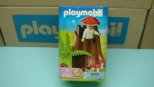 Playmobil 4194 Tree Stump with Fairy mushroom collectors toy mint in Box 177