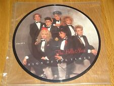 The Belle Stars  -  Sign Of The Times Picture Disc 7 Inch Single PBUY167A STIFF