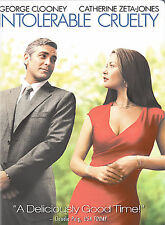 Intolerable Cruelty (DVD, 2004, Widescreen Edition) BRAND NEW AND FACTORY SEALED