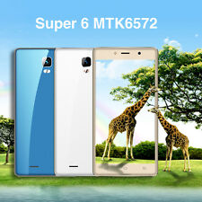 Super 6 MTK6572 3G Android 6.0 Dual-core 1.2Ghz Dual Standby Smart Phone JK