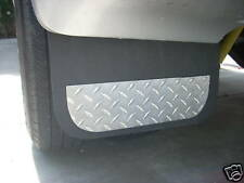 Ford F350 Dually Bed Fender Liners with Built in Mud Flaps and Diamond Accents