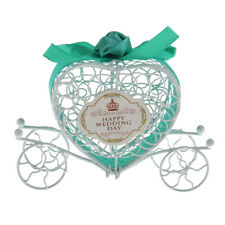 Wedding Favor Metal Carriage Candy Gift Boxes Wedding Party Decora
