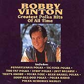 Greatest Polka Hits of All Time by Bobby Vinton (CD, Jul-1991, Curb)