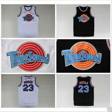 NEW Space Jam Jersey Michael Jordan 23 White Black Tune Squad LOONEY TOONES 2017