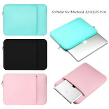 Breathable Laptop Notebook Sleeve Carry Bag Suitable For Macbook 11/13/15 Inch Q