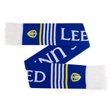 Leeds United AFC Official Football Gift Jacquard Scarf