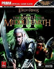 Prima Official Game Guides: Lord of the Rings : The Battle for Middle-Earth by …