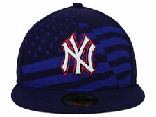 Official MLB New York Yankees Star Stripes Cap New Era 59FIFTY Fitted Hat USA